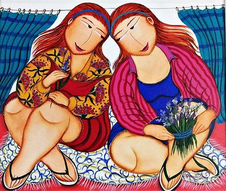Floristas - 50 cm x 60 cm