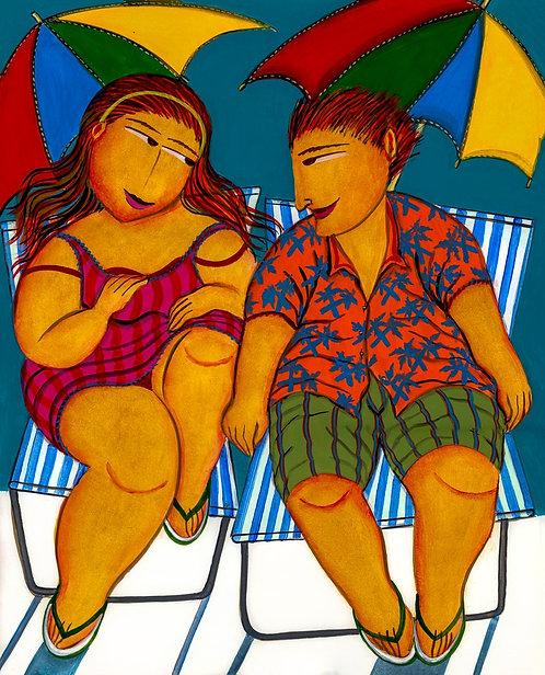 Amor de Verão - 60 cm x 75 cm