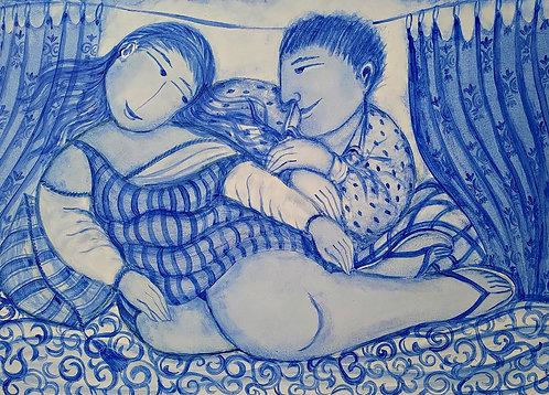 Sonho Lusitano - 50 cm x 70 cm