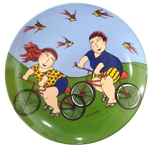 """Prato """"Ciclistas"""""""