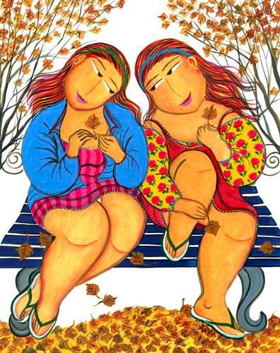 Outono - 50 cm x 60 cm