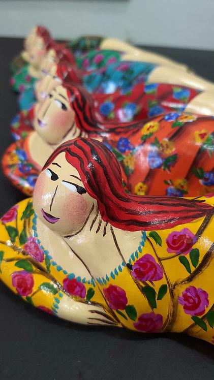 Escultura Mariazinha Lado