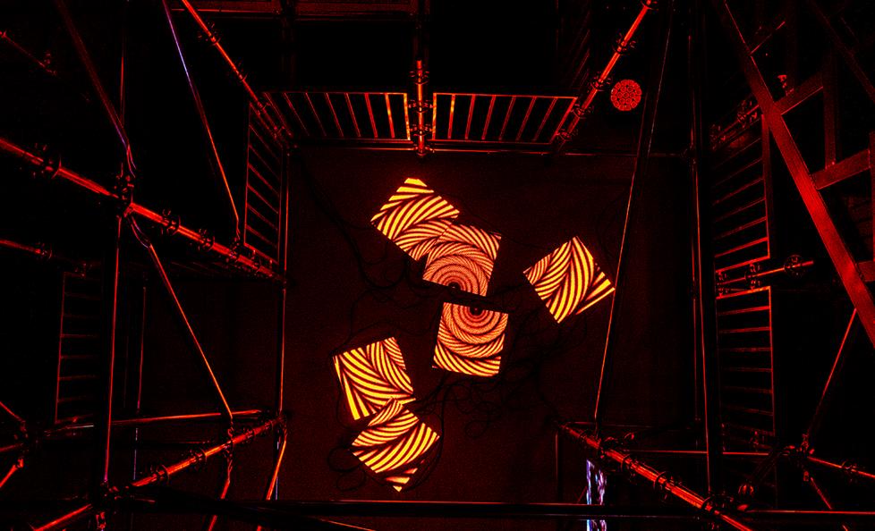 Split screen of Enter the Trap