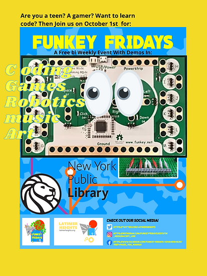 Funkey Flyer For Teens Oct 1st .png