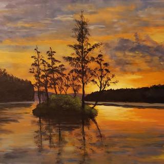 """""""Lake Sunset"""""""