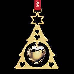 GJ 3410186 Christmas Ornament 1986, Heart