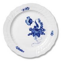 Royal Copenhagen Blue Flower Curved