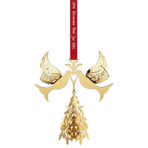 GJ 3410214 Christmas Ornament 2014, Fir Tree/Doves