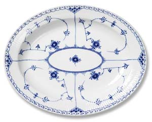RC #1102373 Oval Platter 13 3/4 in.