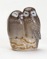 RC 1020077 Pair of Owls