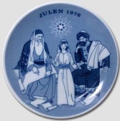 1976 Porsgrund Christmas Plate, Jesus at Temple