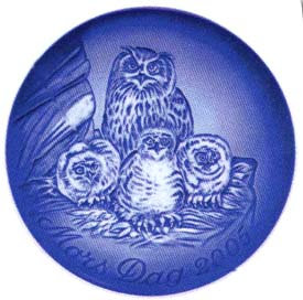 2005 B&G Owl with Young