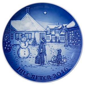 2016 B&G Christmas Plate - H.C.Andersen's House