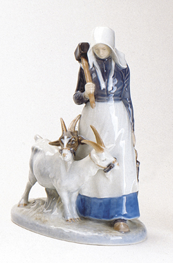 RC 1021069 Girl with Goats