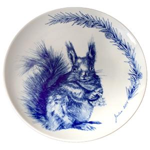 2016 Porsgrund Christmas Plate