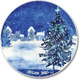 2011 Porsgrund Christmas Plate, Christmas Night