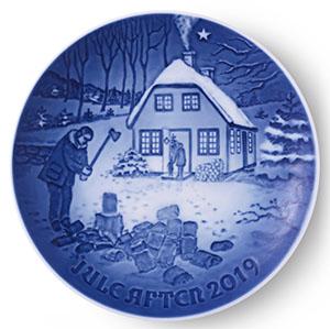 2019 Bing & Grondahl Christmas Plate