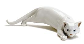 RC 1020059 Cat, White, Creeping