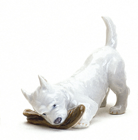 RC 1020145 Dog with Slipper