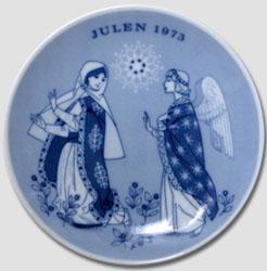 1973 Porsgrund Christmas Plate, Promise of Saviour