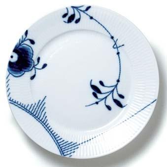 RC Blue Fluted MEGA Dinner Plate #1017366