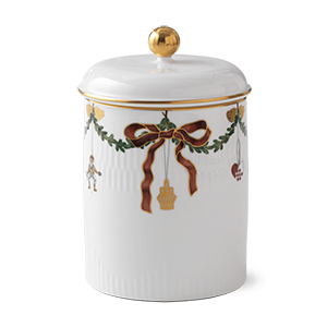 RC #1016966 Star Fluted Jar with a Lid