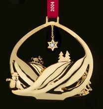 GJ 3410204 Christmas Ornament 2004, Snowscape