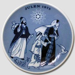 1975 Porsgrund Christmas Plate, Jesus on the Road