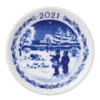 Royal Copenhagen Annual Christmas Plaquette 2021
