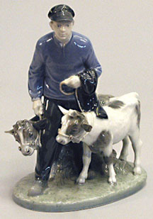 RC 1858 Boy with Two Calves