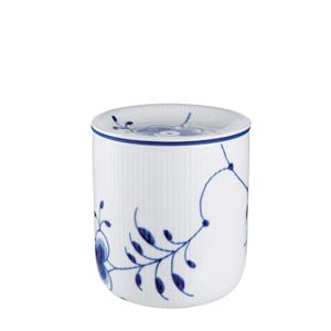 RC Blue Fluted MEGA Storage Jar, Medium #1016886