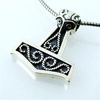 Josefine   Silver Necklace, Thor