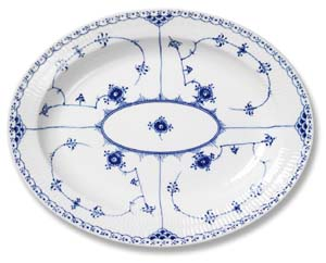 RC #1017212 Large Oval Platter 14 1/4 in.
