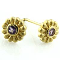 Josefine | Flower Earrings Gold