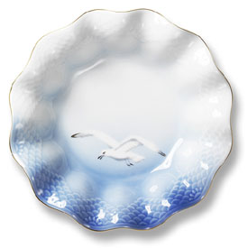 B&G Seagull #303351 Serving Bowl (waves) 7 in.