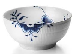 RC Blue Fluted MEGA Bowl (Dessert) #1016898