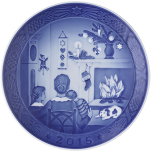2015 RC Christmas Plate