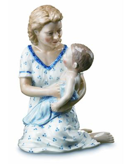 RC 1249545 Mother with Baby on Lap