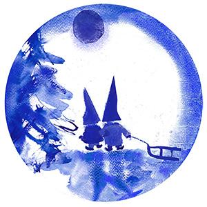 2015 Porsgrund Christmas Plate