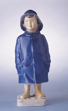 RC 1021532 Boy with Raincoat