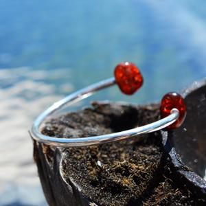 Josefine   Lunar Sun Amber Bracelet