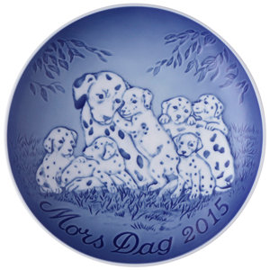 2015 B&G Dalmatian with puppies