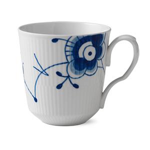 RC Blue Fluted MEGA Latte Mug #1016879 15 1/2 oz.