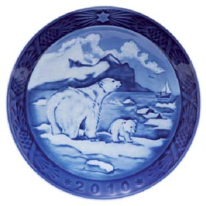 2010 RC Christmas Plate - Christmas in Greenland