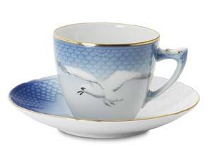 B&G Seagull #1303059 Espresso Cup & Saucer