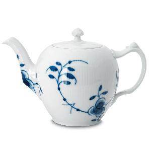 RC Blue Fluted MEGA Tea Pot (Classic) #1017340