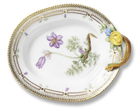 RC #1141356 Oval Accent Dish with Handle