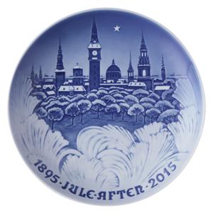 2015 BG X-MAS Jubilee Plate