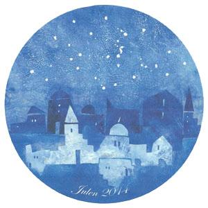 2014 Porsgrund Christmas Plate