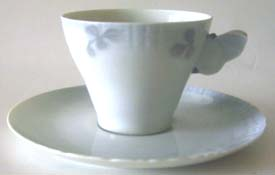 RC #73-10048 Cup & Saucer 2 1/2 x 3 3/8 in.